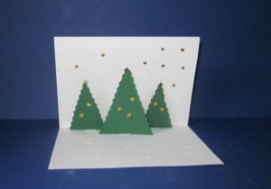 weihnachtskarten basteln amp gestalten kostenlose vorlagen und. Black Bedroom Furniture Sets. Home Design Ideas