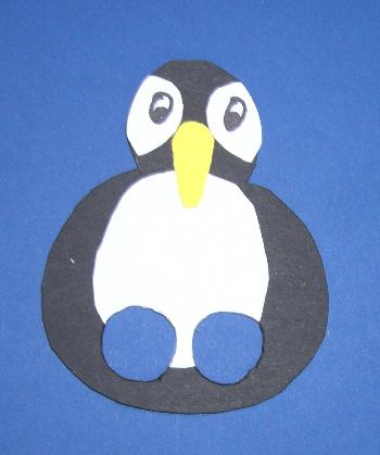 Weihnachtsspiele basteln kostenlose vorlagen und anleitungen f r kinder und erwachsene bastel - Pinguin basteln vorlage ...